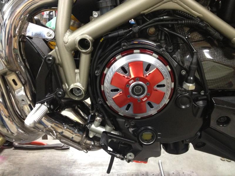 2010 Streetfighter S 1098 Black Slipper Clutch Ducati